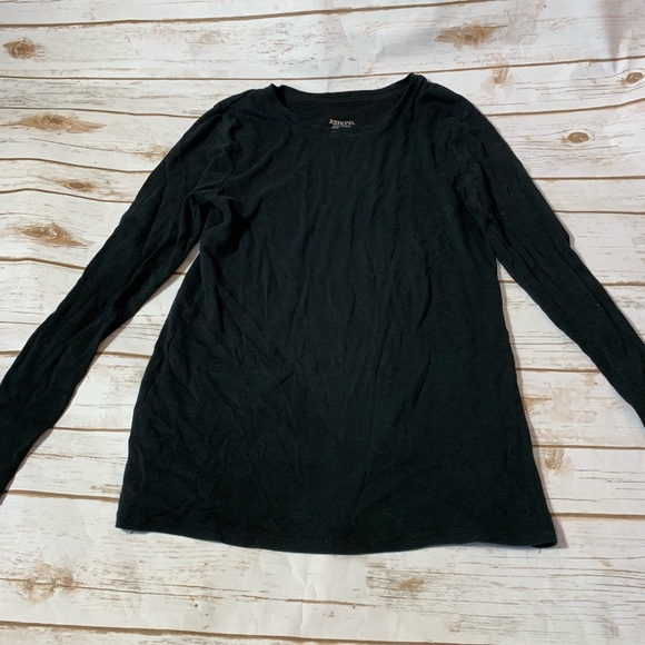 Merona Tops - 🎉SALE!!! Merona long sleeve black shirt - M